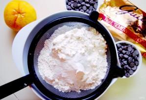 Печенье с шоколадом и апельсином - фото шаг 2