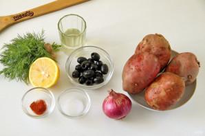 Салат с картофелем - фото шаг 1