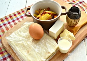Ёка с жареным картофелем - фото шаг 1