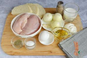Куриная буханка хлеба - фото шаг 1