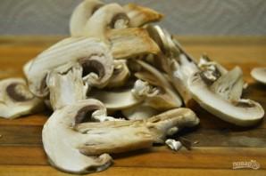 Овощной салат с грибами - фото шаг 1
