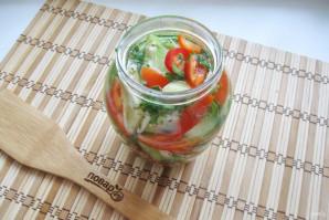 Салат из зеленых помидоров по-грузински - фото шаг 9