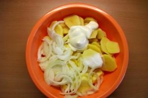 Мясная запеканка с картофелем - фото шаг 2