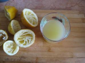 Лимонный рулет из бисквитного теста - фото шаг 7