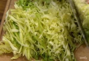 Быстрый наливной пирог с капустой - фото шаг 1