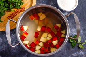 Фруктовый суп с рисом - фото шаг 3