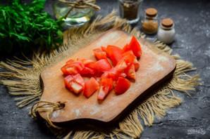 Баклажаны с яйцом и помидорами - фото шаг 3