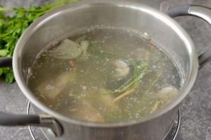 Суп из речных окуней