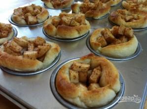 Мини-пироги с яблоком - фото шаг 4