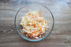 Салат с капустой и дайконом - фото шаг 5