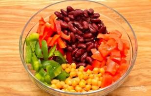 Салат с нутом и фасолью - фото шаг 1