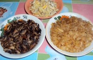 Пирог с грибами заливной - фото шаг 1