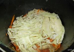 Бигус со свининой и свежей капустой - фото шаг 6