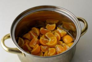 Сироп из мандаринов - фото шаг 4