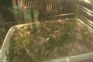 Запеканка из кабачков в микроволновке - фото шаг 9