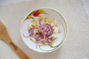 Салат с кальмарами и болгарским перцем - фото шаг 4