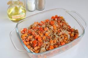 Гречка с овощами в духовке - фото шаг 4