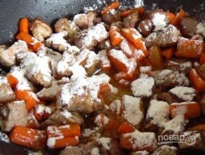Рецепт жаркого из свинины с картошкой - фото шаг 4