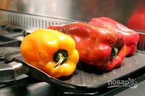 Салат из запеченного перца - фото шаг 1