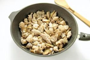 Паста с индейкой и грибами - фото шаг 6