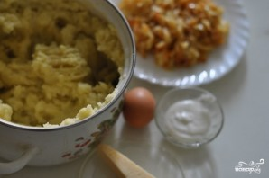 Пирог с капустой и картошкой - фото шаг 1