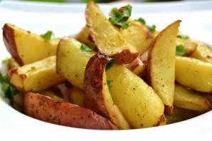 Картофель с карри в духовке - фото шаг 5