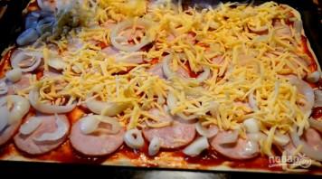 Пышная домашняя пицца - фото шаг 7