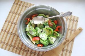 Салат из зеленых помидоров по-грузински - фото шаг 8