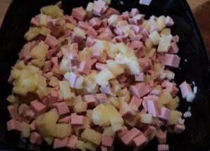 Тарталетки с ветчиной и сыром - фото шаг 3