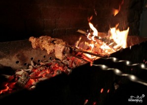 Грузинский шашлык из свинины - фото шаг 6