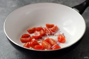 Овсяная каша с помидорами и сыром - фото шаг 4