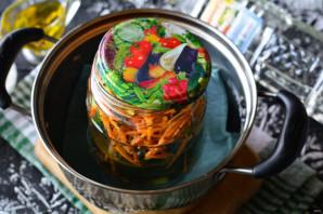 Огурцы по-корейски с морковью - фото шаг 6