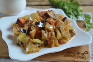 Овощи под сметанным соусом - фото шаг 8