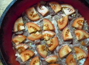 Телятина с помидорами - фото шаг 5