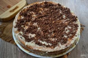 Быстрый торт с заварным кремом - фото шаг 5