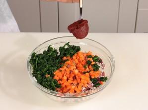 Рис с мясом и овощами на пару - фото шаг 4
