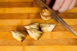 Салат с осьминогом - фото шаг 2