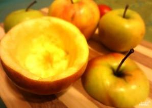 Яблоки, фаршированные мясным фаршем - фото шаг 9