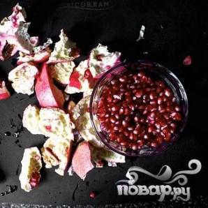 Запеченная цветная капуста с йогуртом и гранатом - фото шаг 1