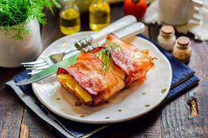 Картофельный мильфей с беконом - фото шаг 11