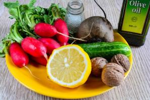 Салат из свеклы и редиса - фото шаг 1