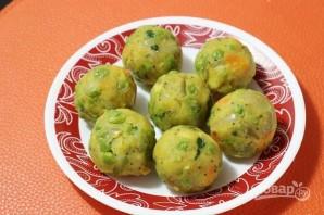 Овощные шарики в кляре - фото шаг 7