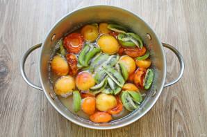 Варенье из абрикосов и киви - фото шаг 5
