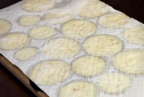 Жареные баклажаны с уксусом и чесноком - фото шаг 2