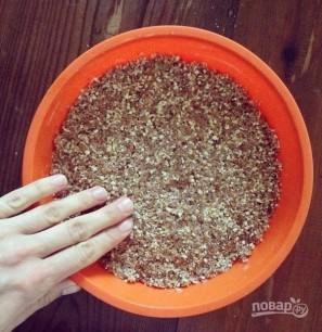Черничный чизкейк с орехами - фото шаг 3