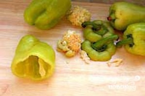 Болгарский перец с овощами - фото шаг 7