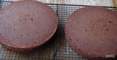 Бисквит с шоколадом - фото шаг 6