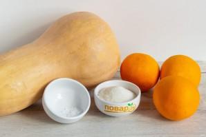 Сок из тыквы с апельсином - фото шаг 1