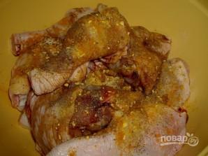 Курица в рукаве с картошкой - фото шаг 3
