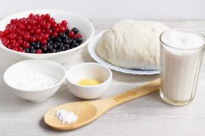 Открытый пирог со смородиной - фото шаг 1